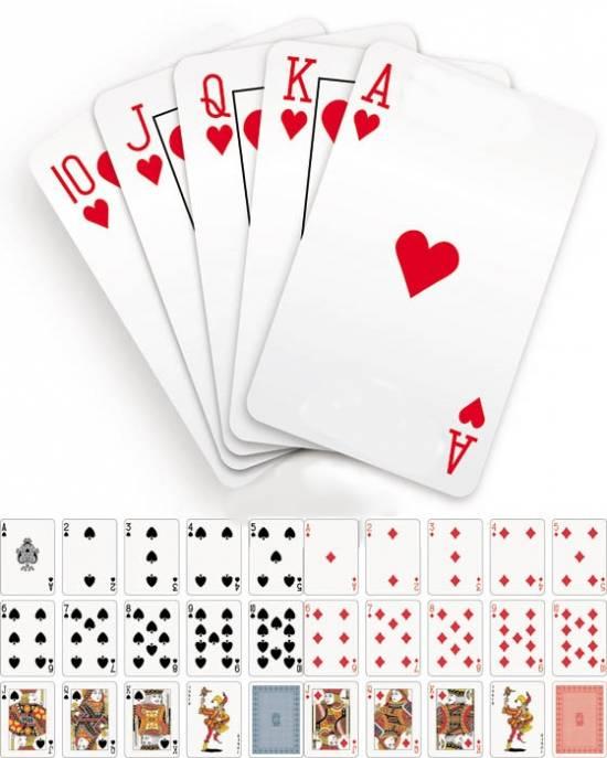 Клипарты - Полная колода игральных карт