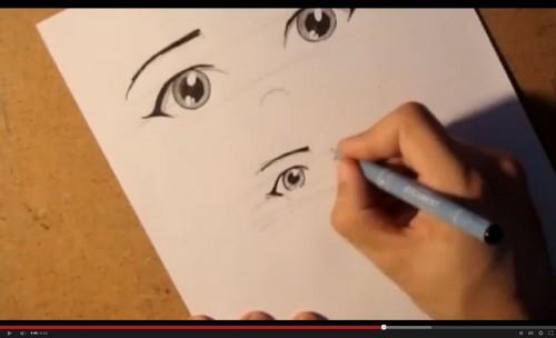 как рисовать аниме бесплатно: