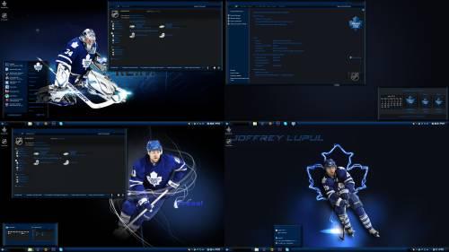 Leafs - Тема для Windows 7