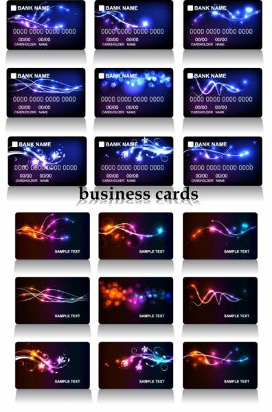 Клипарты - Business Cards Vector Pack