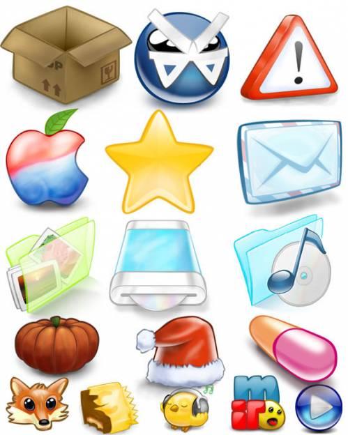 Иконки - Color Icons - сборник тематических красочных иконок