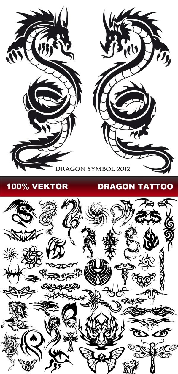 Значение тату с драконами и их