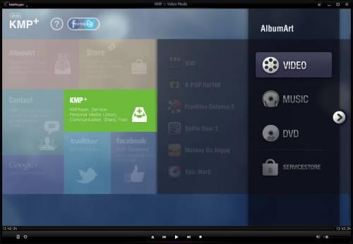 The KMPlayer 3.1.0.0 Final + Portable - популярнейший медиаплеер