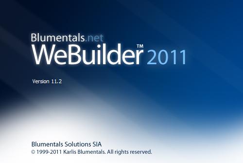 Blumentals WeBuilder 2011 v11.2.1.130 ML/RUS - редактор веб-страниц