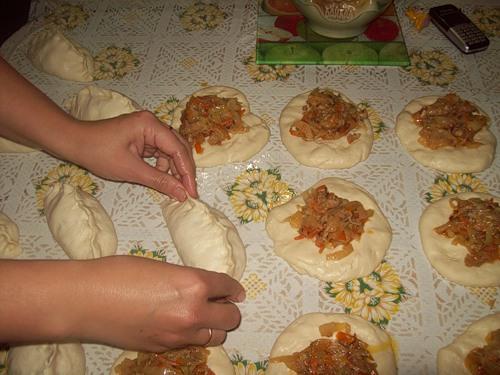 Пирожки пигоди рецепт